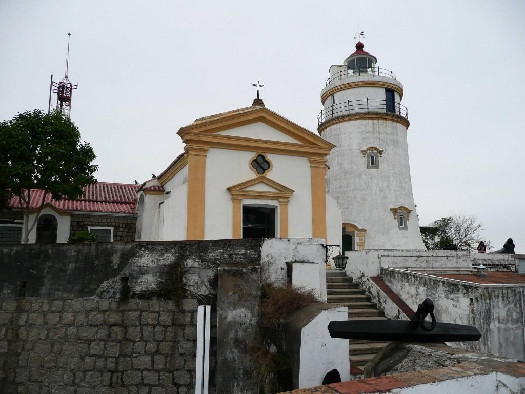 Pevnost Fortaleza da Guia v Macau