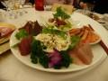 První chod, úžasné sashimi ^^