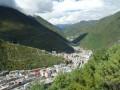Výhled na Kangding