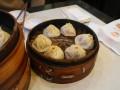 Xiaolongbao s masem a krabími jikrami