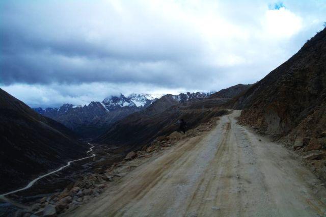 Stopem po nebezpečné Sichuan-Tibet highway