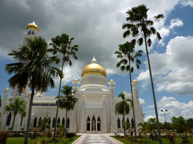 Mešita v Bandar Seri Begawanu