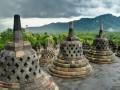 Borobudur - výhled
