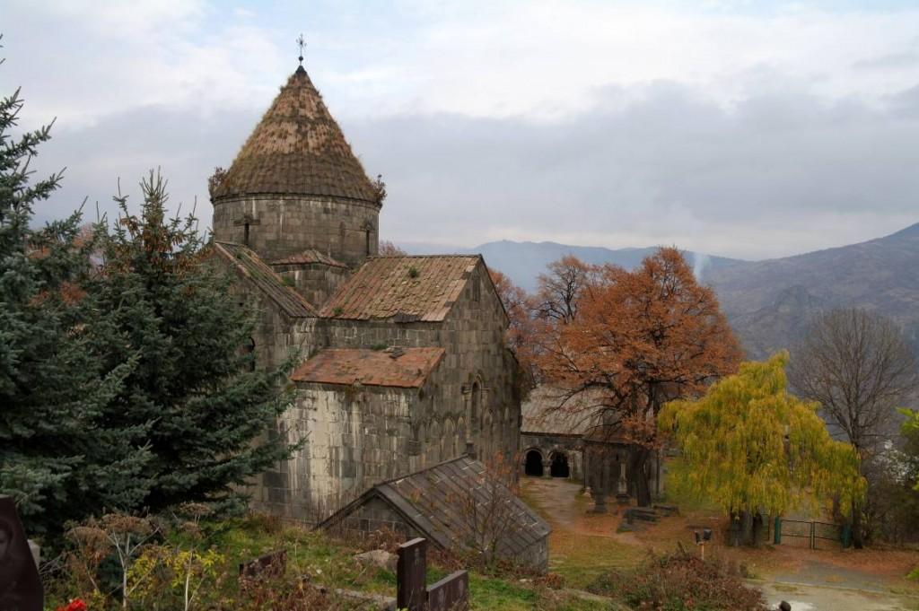 Klášter Sanahin nad údolím Debed