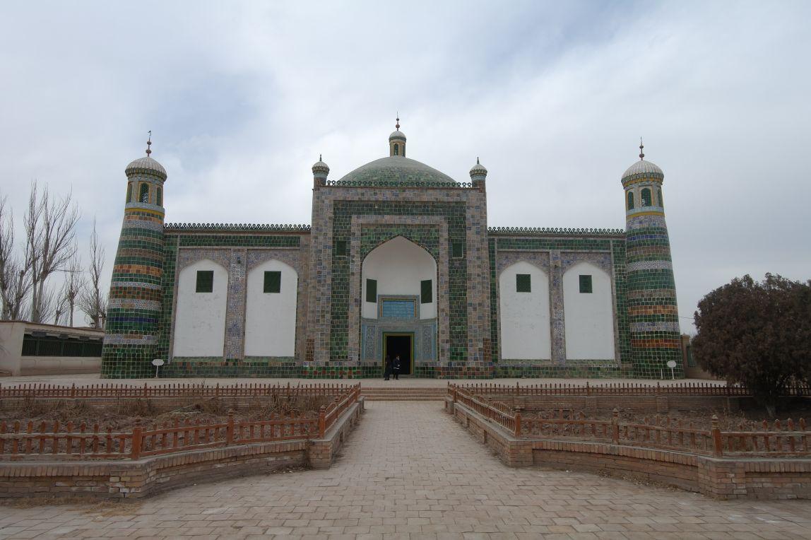 Hrobka Apaka Hoji v Kashgaru
