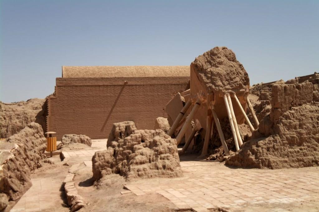 Vnějš�  část citadely