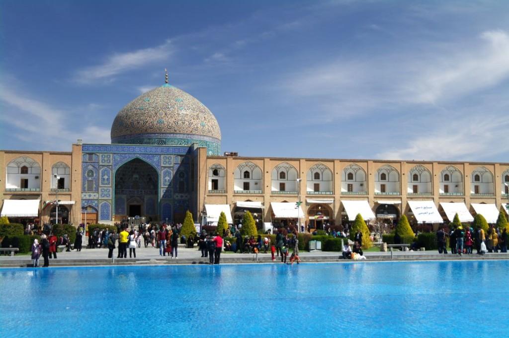 Imámovo náměstí v Esfahánu