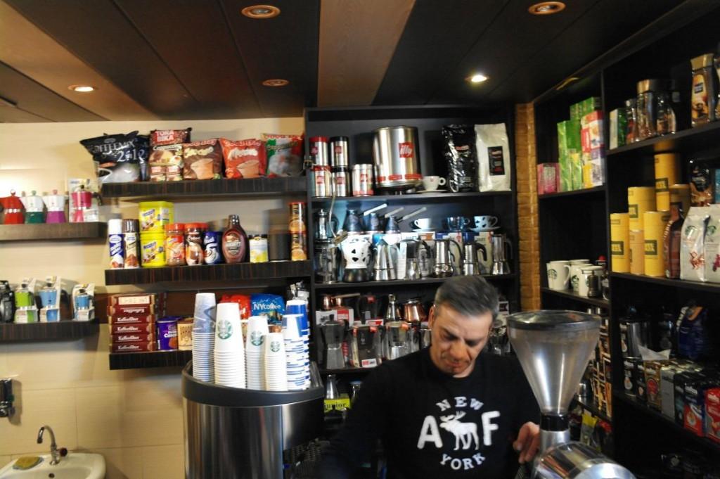 V arménském Starbucksu