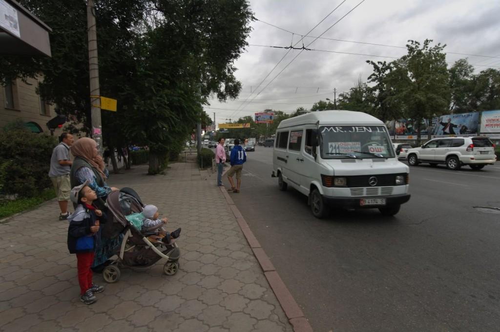 Chuy Prospekt - hlavn�  ulice Bishkeku