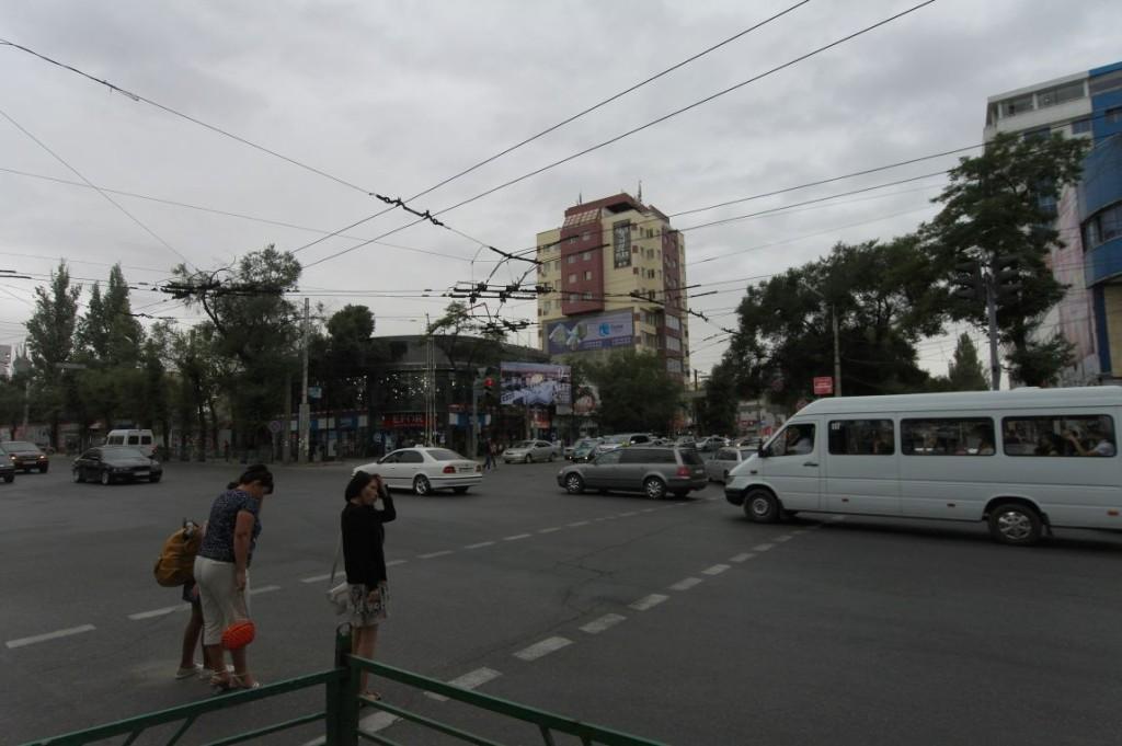 Šedými ulicemi Bishkeku