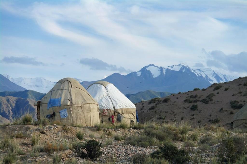 V jurtovém kempu Bel-Tam