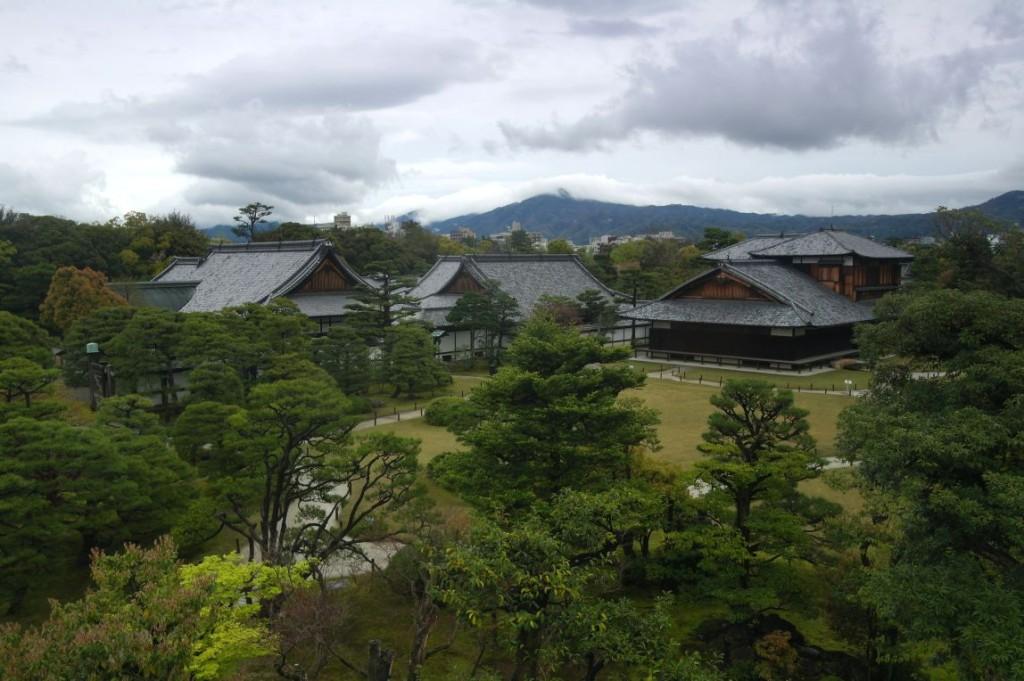 Hrad Nijō v Kyōtu má jednu z nejkrásnějš� ch zahrad...