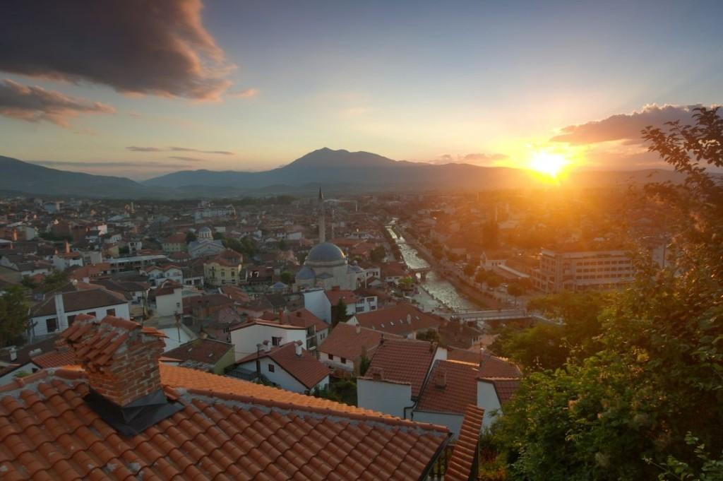 Prizren v Kosovu