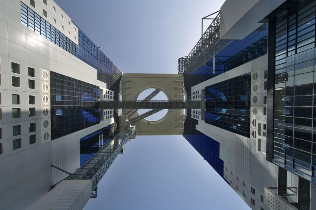 Umeda Sky Building je podle mě jedna z nejzaj� mavějš� ch modern� ch budov v Japonsku...