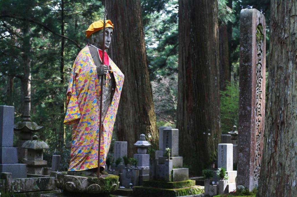 Hřbitov Okunoin je také velice magické m� sto...
